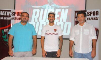 Hatayspor'da Ruben Ribeiro ile 2 yıllık sözleşme imzalandı