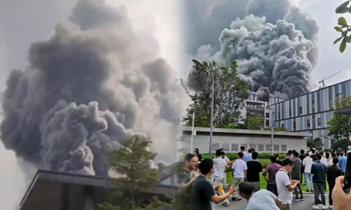 Huawei'nin Çin'deki laboratuvarında yangın çıktı