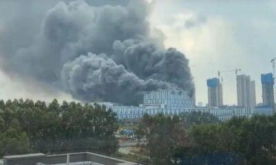 Huawei'nin Çin'deki tesisinde çıkan yangında 3 kişi öldü