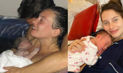 İkinci bebeğini evde doğurdu