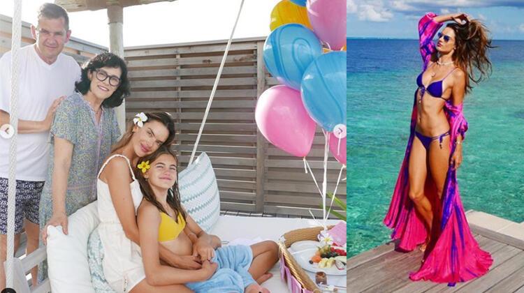 Kızıma feda olsun: Doğum günü için cennet köşesine götürdü