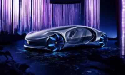 Mercedes'in etkileyici otomobili Vision AVTR test edildi