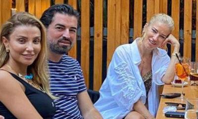 Özge Ulusoy sevgilisini Burcu Esmersoy ile tanıştırdı