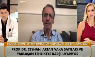 """Prof. Dr. Mehmet Ceyhan'dan """"A Rh+ kan grupları koronavirüsten daha fazla etkileniyor iddiası cevap"""