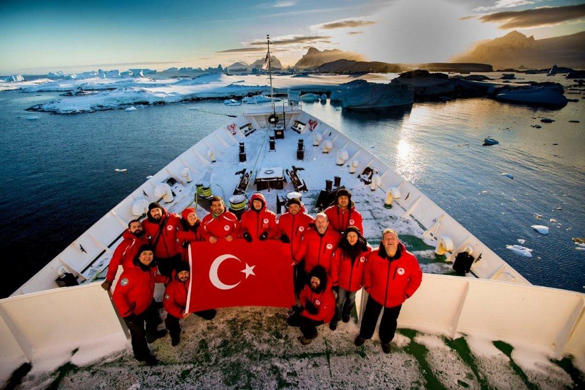 Sanayi ve Teknoloji Bakanı Mustafa Varank: Antarktika da kalıcı üs kuruyoruz #1