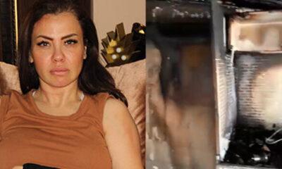 Şarkıcı Lara'nın evi yandı! 'Ailem çok zor saatler yaşadı'