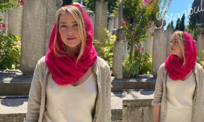 Ünlü Hollywood yıldızının İstanbul'da cami turu