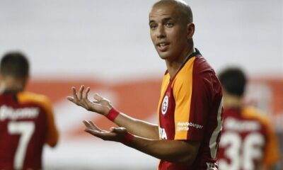 Feghouli Cezayir formasıyla golünü attı