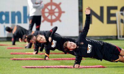 Galatasaray'da Falcao takımdan ayrı çalıştı