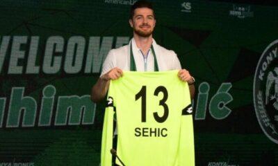 Konyaspor'da Sehic'e pozitif teşhis kondu