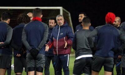 Samet Aybaba, Kayserispor'la ilk idmanına çıktı