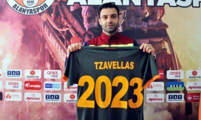 Alanyaspor, Tzavellas'ın sözleşmesini 2 yıl uzattı!