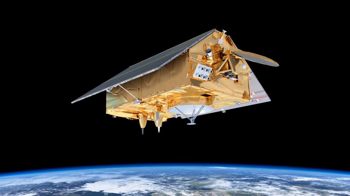 Deniz seviyesindeki yükselişi incelemek için fırlatılan Sentinel-6 uydusu ilk verileri gönderdi