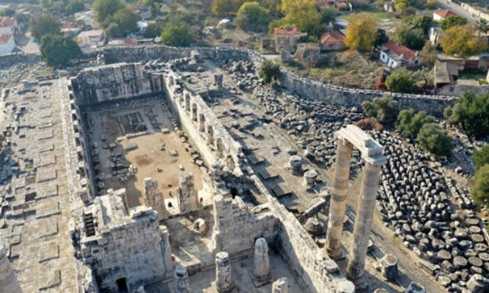 Didim Apollon Tapınağı'ndaki su sızıntısı sorunu çözüldü