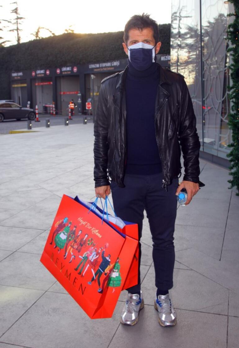 Emre Belözoğlu alışverişte