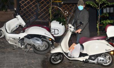 Engin Günaydın motosikleti devrildi: Nazarlık olsun