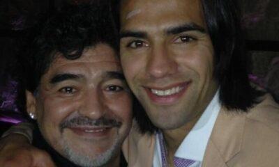 """Falcao: """"Her şey için teşekkürler Maradona"""""""