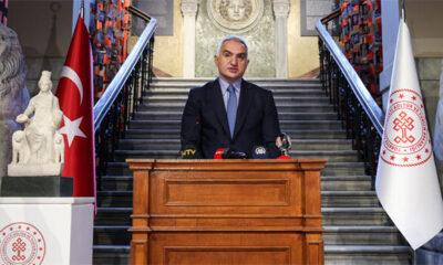 Kültür ve Turizm Bakanı Ersoy, Kybele heykelinin tanıtımını yaptı