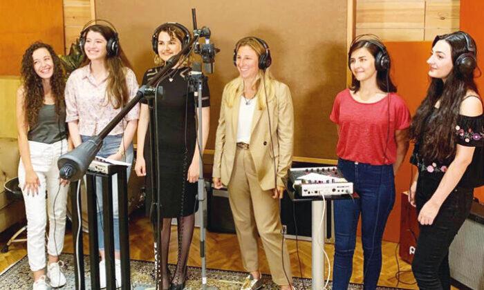 Mühendis kızlardan şarkı