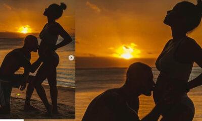 Ünlü şarkıcı üçüncü hamileliğini böyle duyurdu: Sen ve ben, daha fazla sevgi