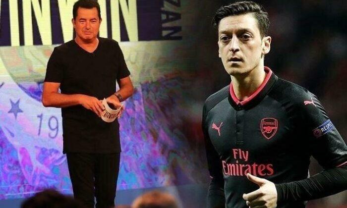 Acun Ilıcalı'ya canlı yayında Mesut Özil sorusu