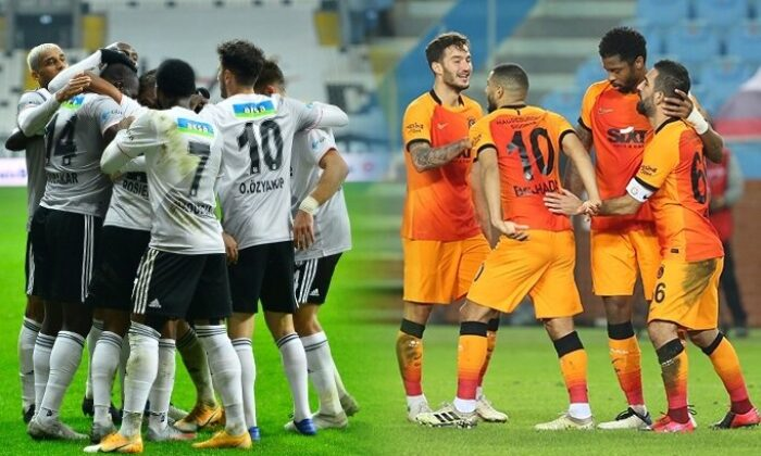 Beşiktaş iç sahada iyi, Galatasaray deplasmanda istikrarsız