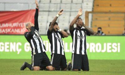 Beşiktaş, sahasında seriyi 5 maç yaptı