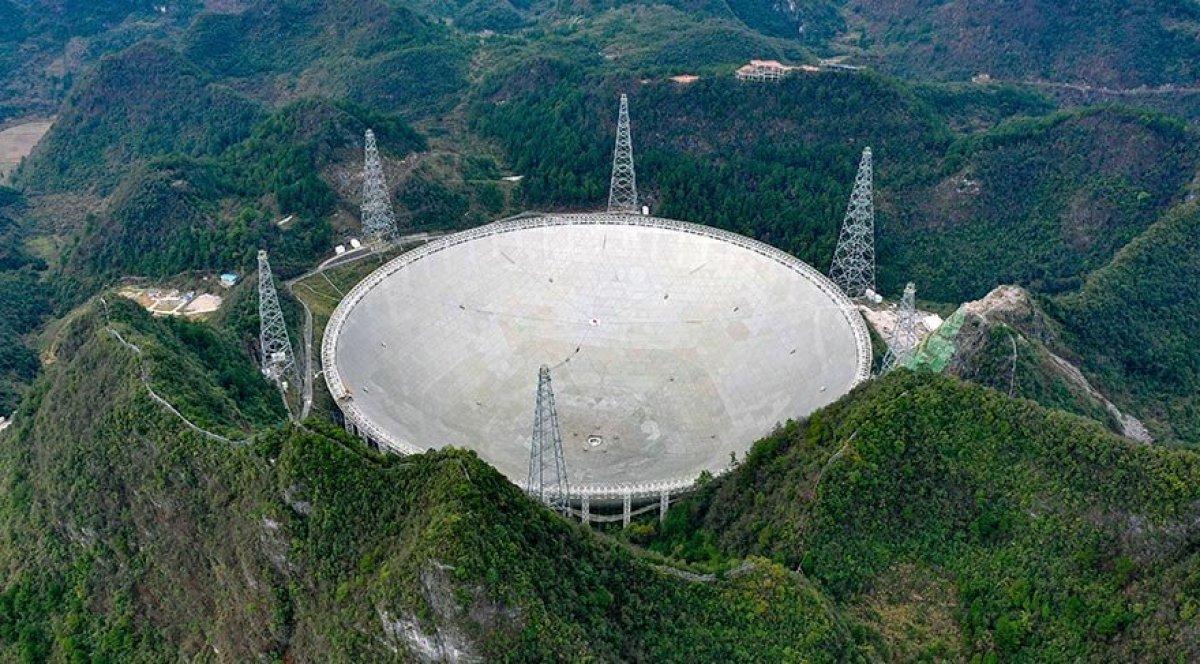 Çin in FAST Teleskobu, dünya genelindeki bilim insanlarına açılacak #1