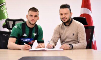 Denizlispor, Kosovalı genç golcü ile sözleşme imzaladı