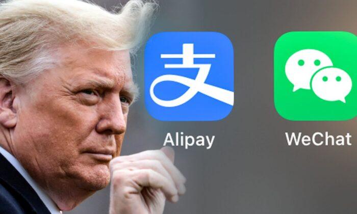 Donald Trump, Alipay ve diğer Çinli uygulamaları yasaklayan kararnameyi imzaladı