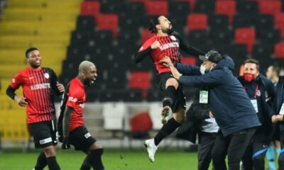 Gaziantep FK'nin nöbetçi golcüsü: Kenan Özer
