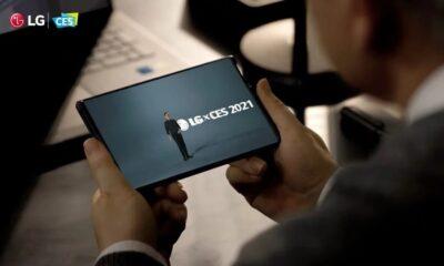LG'nin genişleyen ekranlı telefonu Rollable, bu yıl satışa çıkacak