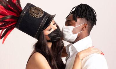 Maskeli öpüşme