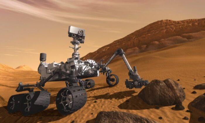 NASA aracı Curiosity, Mars'ta 3 bininci gününü geride bıraktı
