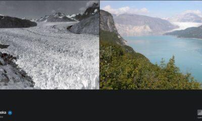 NASA, iklim değişikliğinin dünyayı nasıl değiştirdiğini gösteren fotoğrafları yayınladı