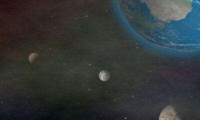 TRAPPIST-1 yıldız sistemindeki gezegenlerin benzer öz kütleye sahip olduğu ortaya çıktı