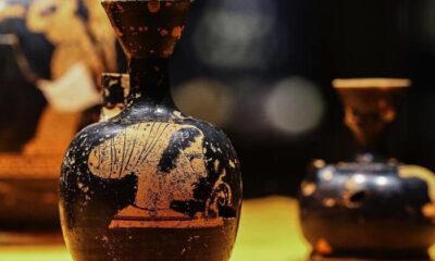 2 bin 600 yıllık 'parfüm şişeleri' ilk kez sergileniyor