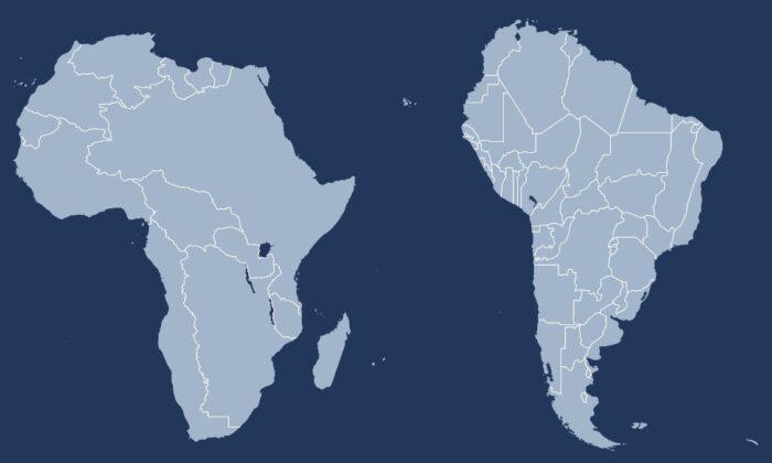 Amerika, Avrupa ve Afrika arasındaki mesafe her yıl 4 santimetre artıyor
