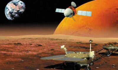 Çin'in Mars'a gönderdiği Tianwen 1, ilk videosunu çekti