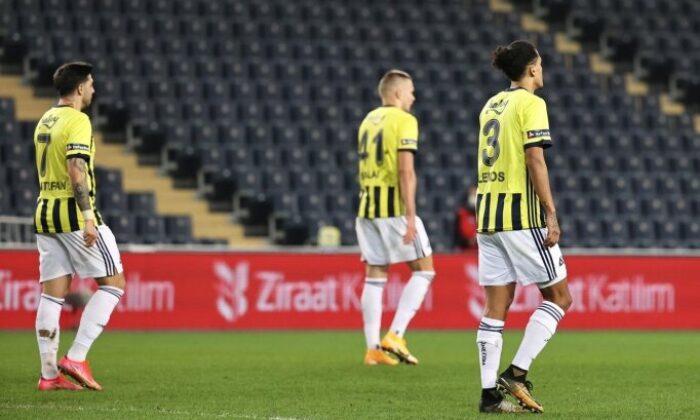 Fenerbahçe'de iç saha çöktü!