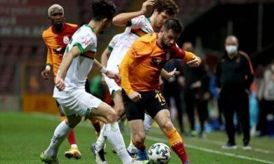 Galatasaray Alanyaspor'a 2. kez yenildi