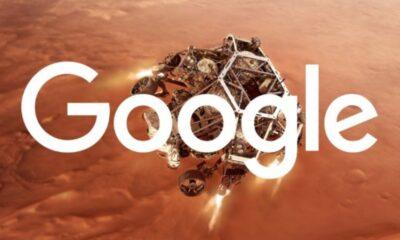 Google'dan havai fişekli Perseverance kutlaması