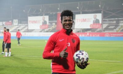 Hatayspor, Mohammed Kamara'yı transfer etti