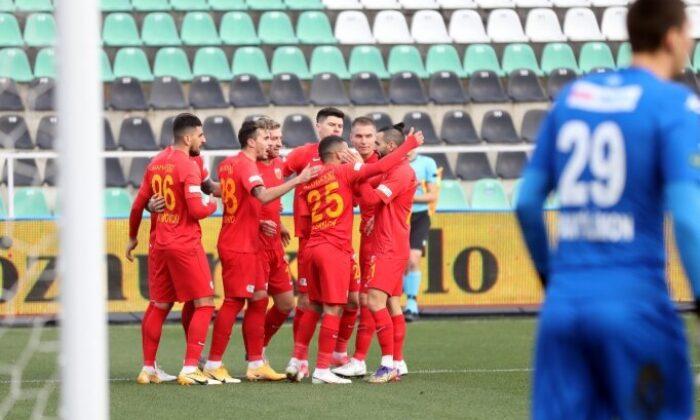 Kayserispor, 3 puan hasretini Denizli'de bitirdi