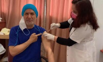 Talat Bulut koronavirüs aşısı oldu!
