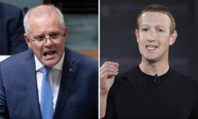 Avustralya Başbakanı Scott Morrison, Facebook'a tepki gösterdi