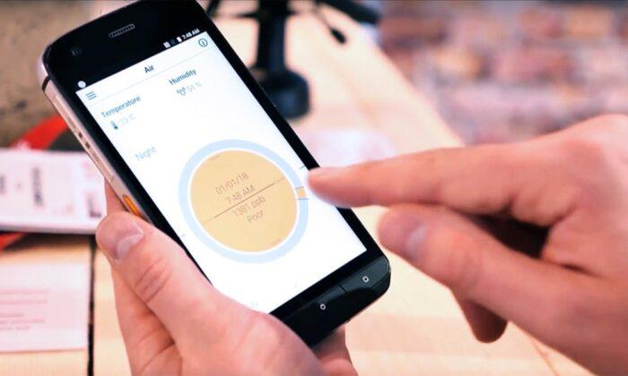 Fransa'da cep telefonuyla yapılan koronavirüs testi geliştirildi