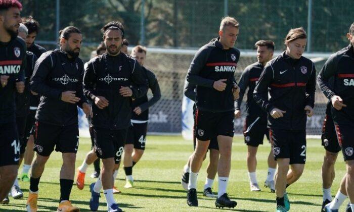 Gaziantep, Beşiktaş maçının hazırlıklarını tamamladı