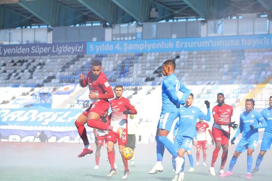 Hatayspor, Erzurum'da 3 golle kazandı