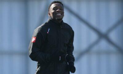 Konyaspor'da Jesse Sekidika, takımdan ayrı çalıştı
